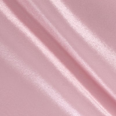 Poly Crepe Back Satin Pink