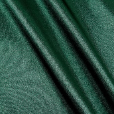 Poly Charmeuse Satin Hunter Green