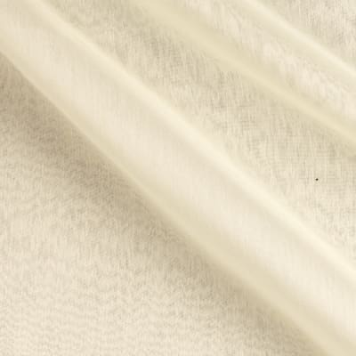 Poly Two Tone Chiffon Dark Ivory