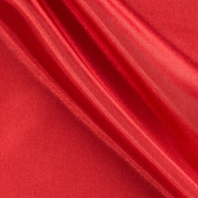 58'' China Silk Polyester Lining Red
