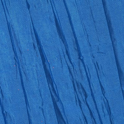 Creased Taffeta Cornflower