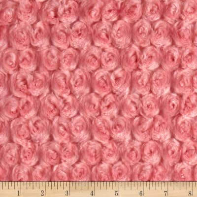 Shannon Minky Luxe Cuddle Rose Coral