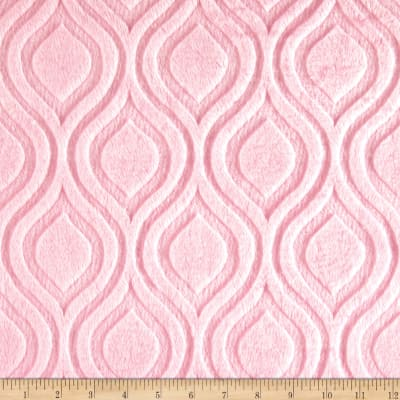 Shannon Premier Prints Embossed Marquise Cuddle Blush