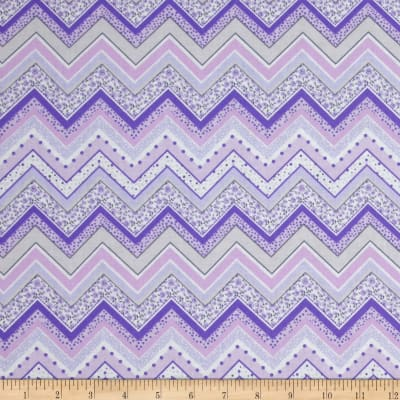 Patterned Chevron Lilac