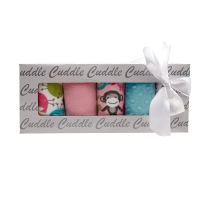 Shannon Minky Cuddle Quilt Kit Fabulous 5 Chickadee