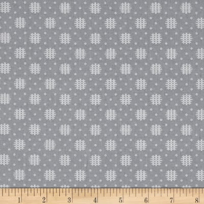 Essentials 10 Woven Dot Gray