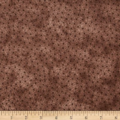 Sew Nice to be Home Daisy Floral Dark Brown