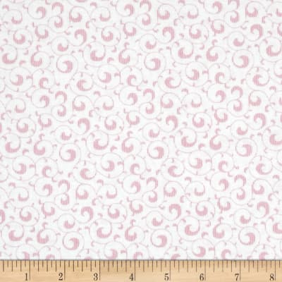Symphony Rose Scroll Pink
