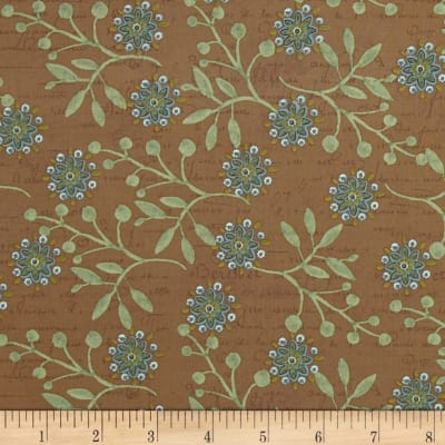 Bohemian Chic Floral Dark Taupe