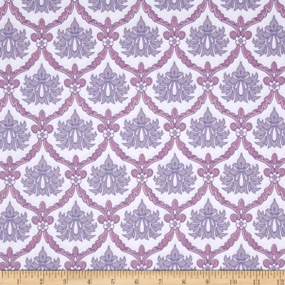 Stonewall Bloom Damask White