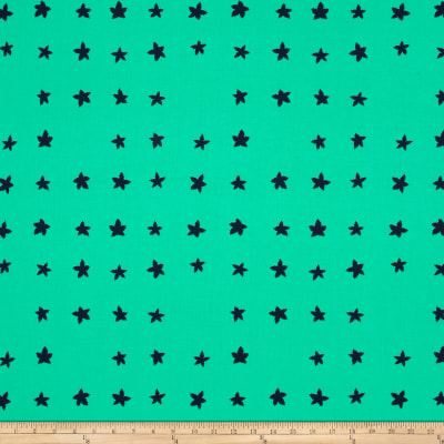 Cotton + Steel Mesa Stars Green