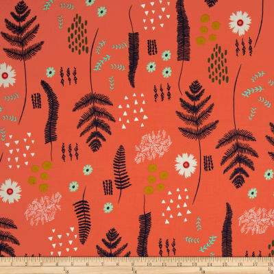 Cotton + Steel Mesa Fern Book Coral