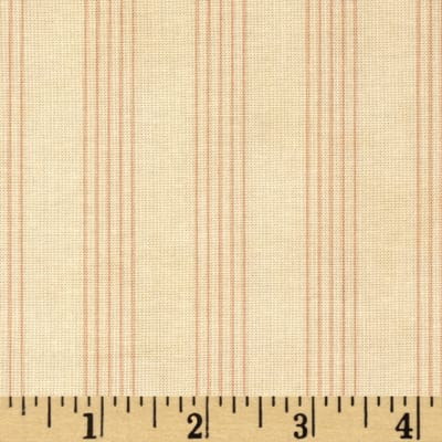Moda Country Orchard Rail Fence Cream/Blush