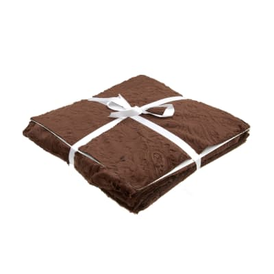 """Shannon Minky Cuddle Cakes 10"""" Cuddle 3 Asst. Hot Chocolate/Multi Browns"""