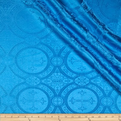 Clergy Brocade Turquoise