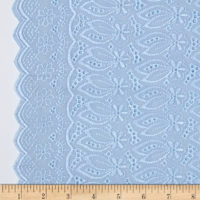 Fancy Eyelet Blue