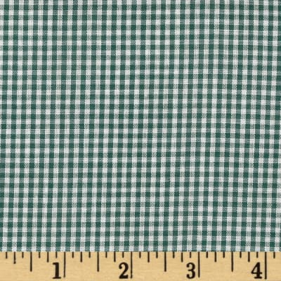 Gingham 1/16'' Checks Galore Green
