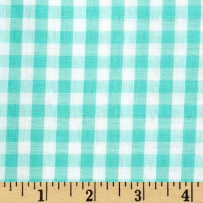 Gingham 1/4 In. Checks Galore Mint