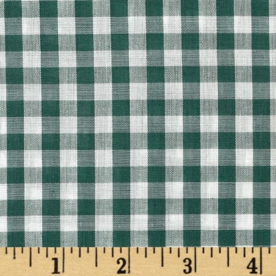 Gingham 1/4 In. Checks Galore Green