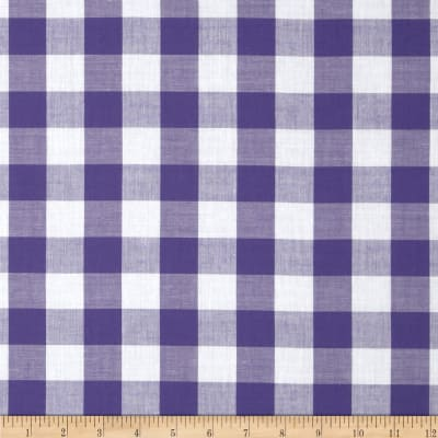 Gingham 1'' Checks Galore Purple