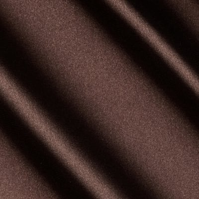 Barcelona Spandex Stretch Satin Brown