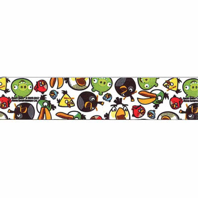 "7/8"" Angry Birds Ribbon Multi"