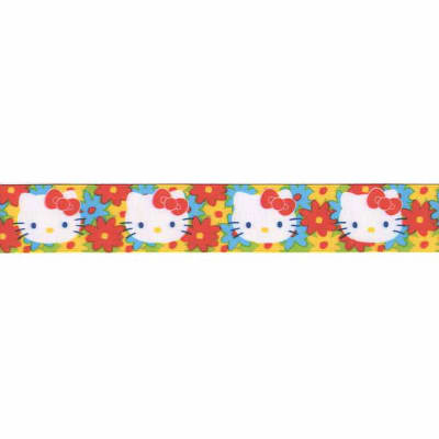 "7/8"" Hello Kitty Ribbon Multi"