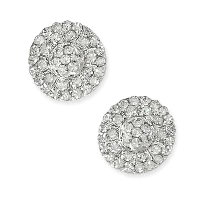1.7cm Glass Rhinestone Button