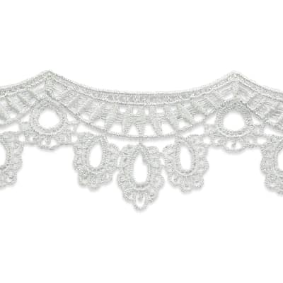 "2 1/4"" Lori Lace Trim Natural"
