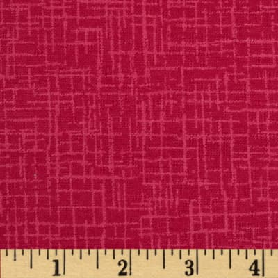 110 In. Wide Quilt Back Betula Flannel Hot Pink