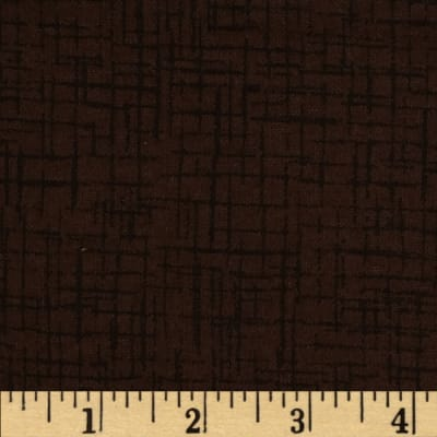 Westrade 110 In. Wide Quilt Back Betula Flannel Brown