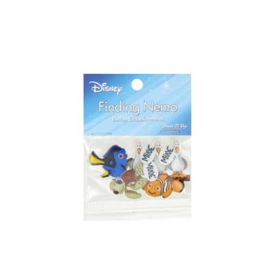 Dress It Up Disney Finding Nemo Button
