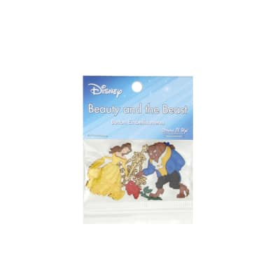 Dress It Up Disney Beauty and the Beast Button