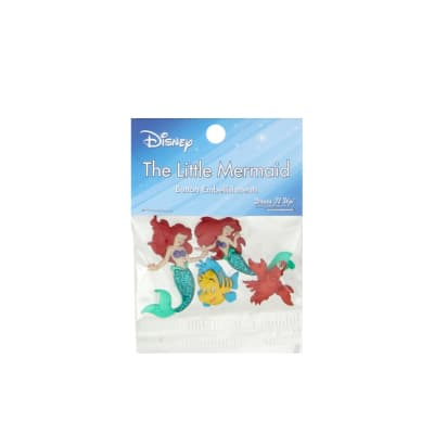 Dress It Up Disney The Little Mermaid Button