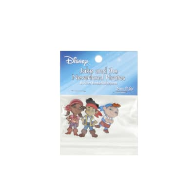 Dress It Up Disney Jake and the Neverland Pirates Button