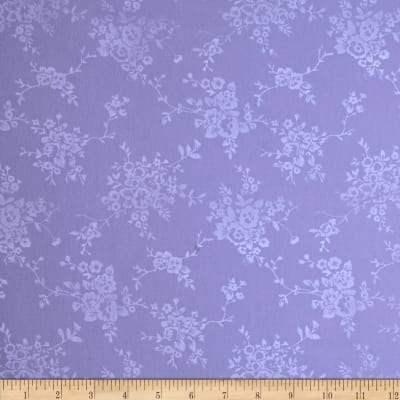 Polyester Embossed Shirting Dusty Lavender