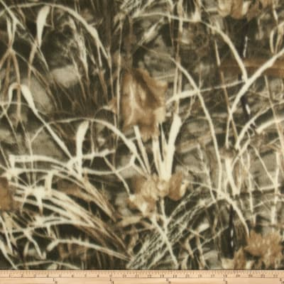 Camouflage Fleece Brush Light Brown/Ivory