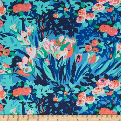 Amy Butler Violette Meadow Blooms Midni