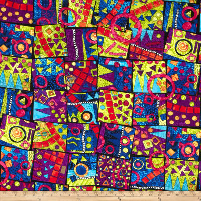 Heart & Soul Sisters Patchwork Rainbow