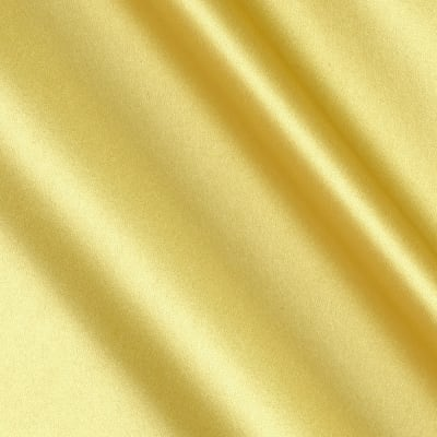 Debutante Stretch Satin Fabric Yellow
