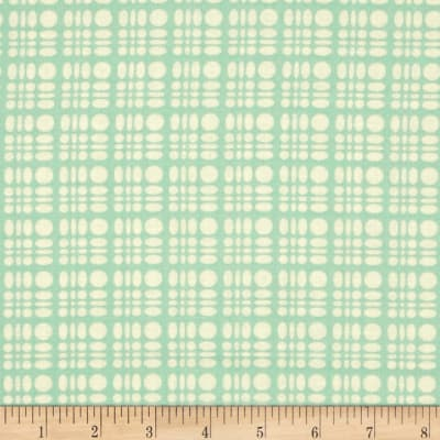Heather Bailey Clementine Dot Weave Aqua