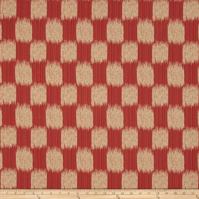 Jaclyn Smith Buford Jacquard Scarlet