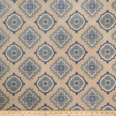 Jaclyn Smith 02129 Medallion Jacquard Cobalt