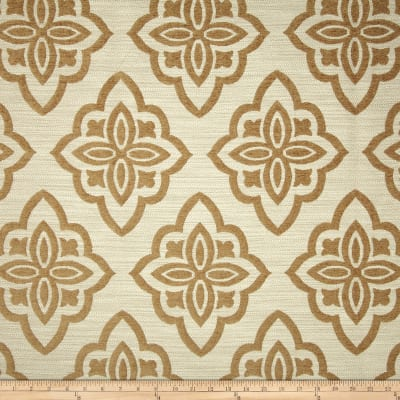 Jaclyn Smith 02601 Medici Chenille Jacquard Cashew