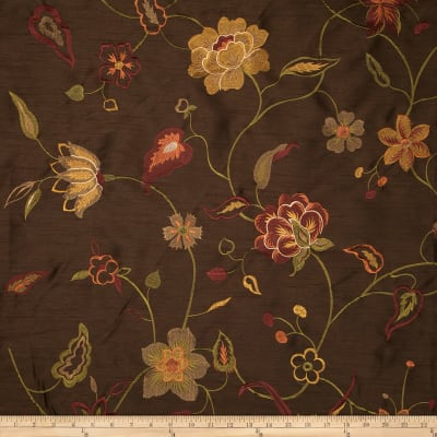 Jaclyn Smith Embroidered Baldino Pecan