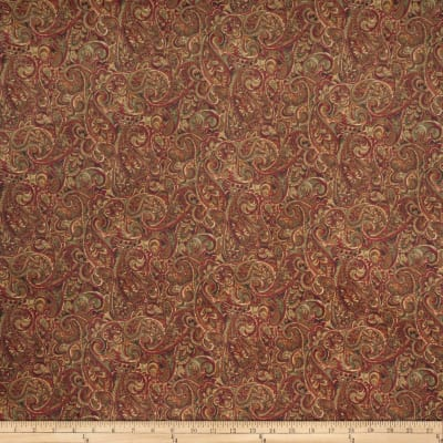 Jaclyn Smith 02126 Paisley Blend Brick