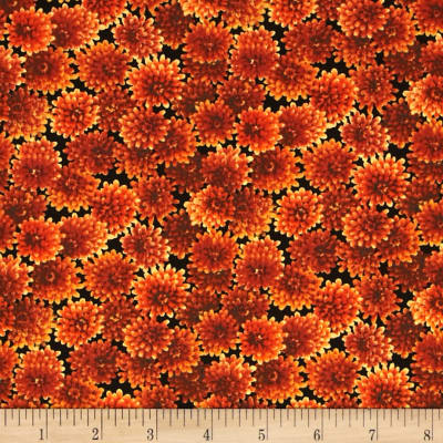 Autumn Romance Blossom Orange