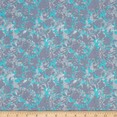 Sondalo Packed Floral Turquoise