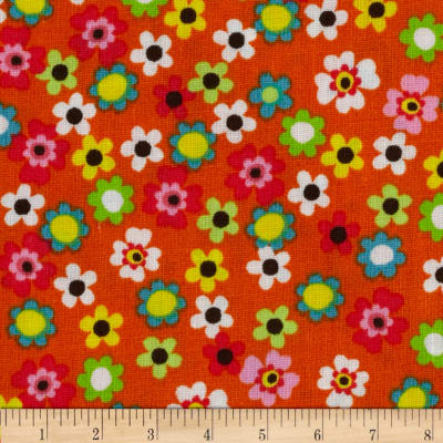 Rhymbee Small Floral Orange