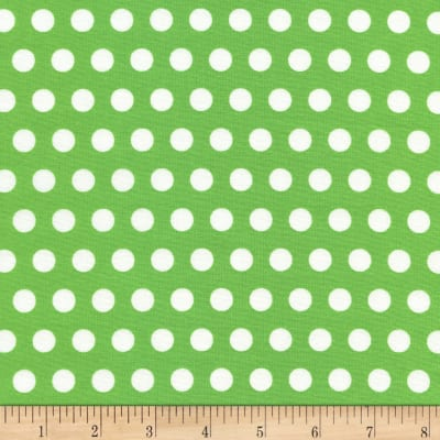 Timeless Treasures Tribeca Set Dot Green